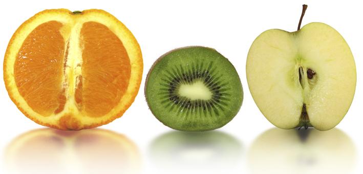 Orange, Kiwi, Apfel Liersch Obst, Gemüse- und Kartoffelgroßhandel Frischezentrum Essen